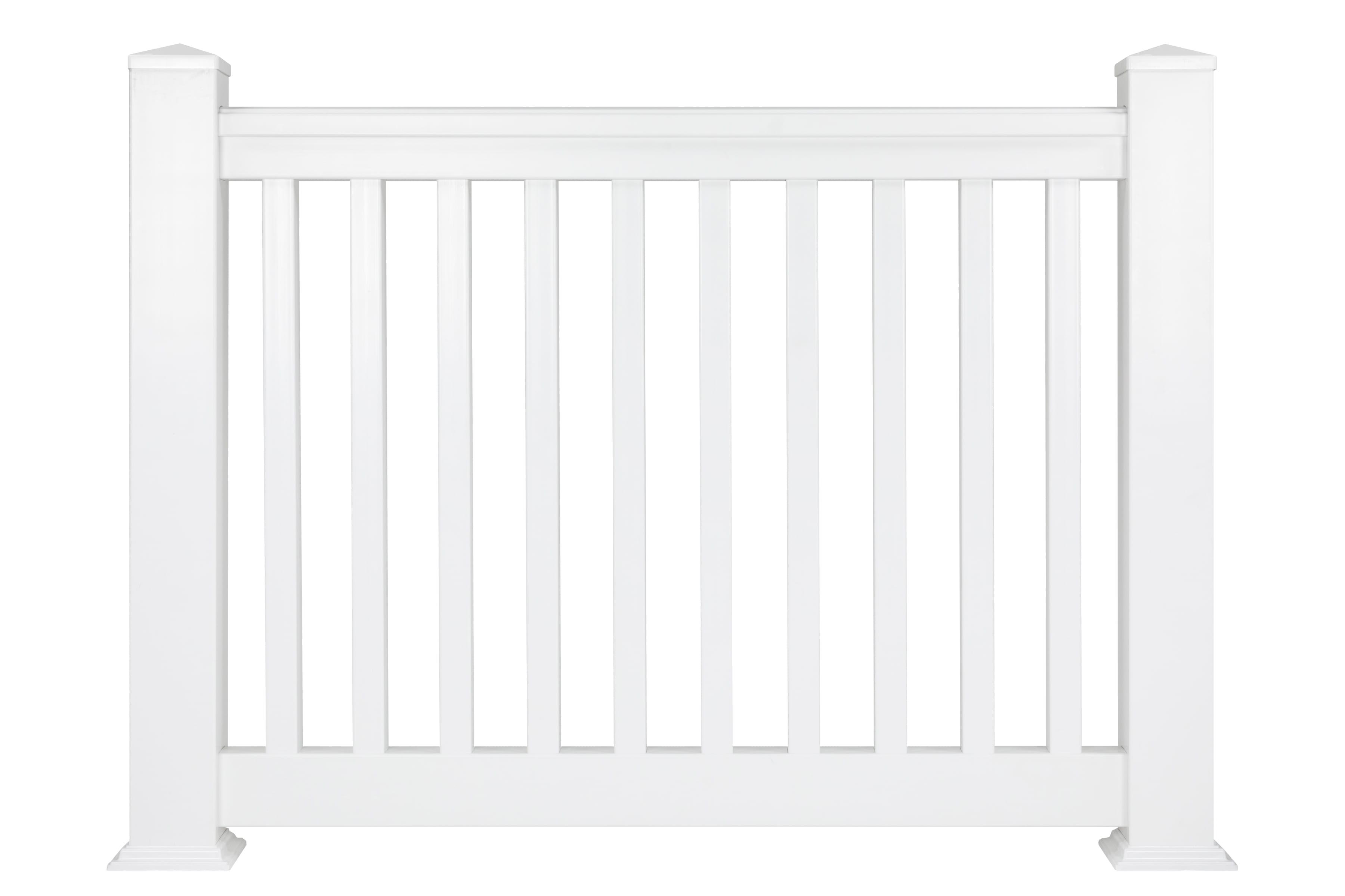 edge balustrade 1220mm white