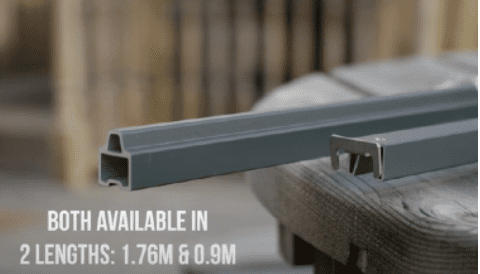 ultrashield top bottom rail
